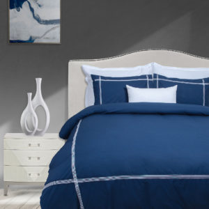Sheraton York 200TC Embroidered Duvet Cover Set