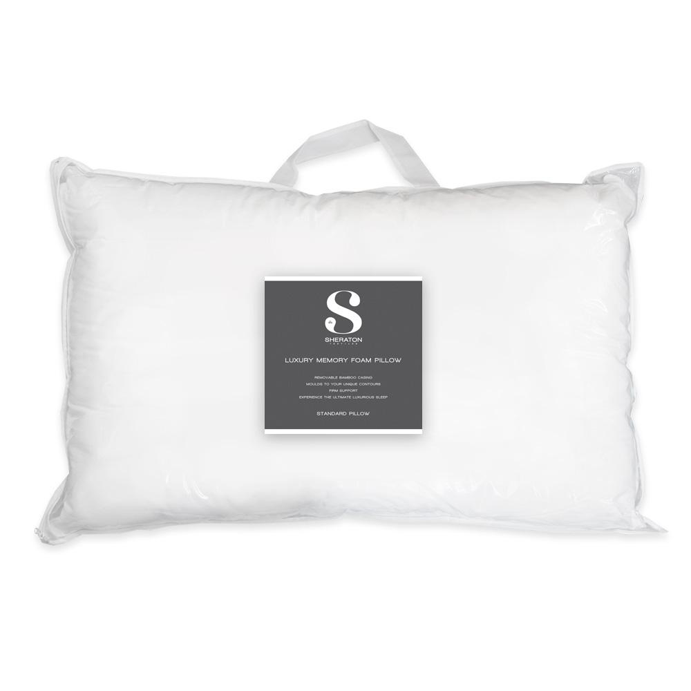 Sheraton Textiles Luxury Memory Foam Pillow