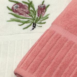 Protea Towel Set Close Up