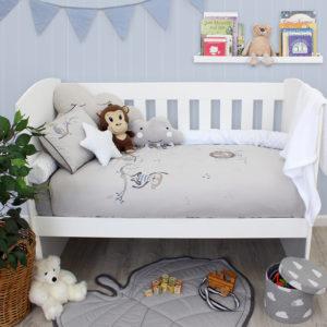 Sheraton Little Lion Embroidered Duvet Set